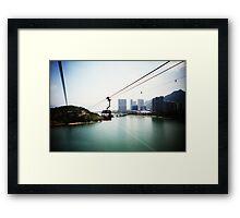 Cable Car Ride - Lomo Framed Print