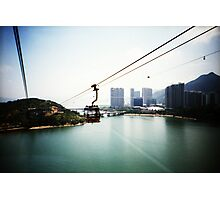 Cable Car Ride - Lomo Photographic Print