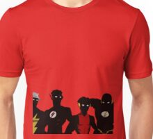 The Flashfam in Young Justice Unisex T-Shirt