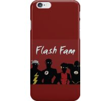 The Flashfam in Young Justice iPhone Case/Skin