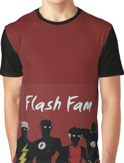 The Flashfam in Young Justice Graphic T-Shirt