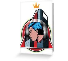 Hero King  Greeting Card
