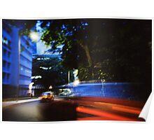 Fast/Blur - Lomo Poster