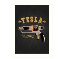 The Tesla - Not Standard Issue Art Print