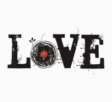 Love Vinyl Records - Grunge Vintage T Shirt Kids Clothes