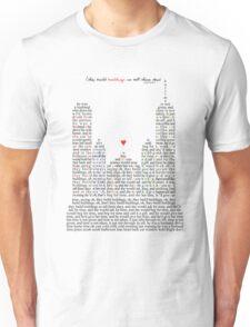 Regina Spektor - Buildings Unisex T-Shirt