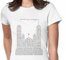 Regina Spektor - Buildings Womens Fitted T-Shirt