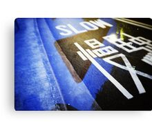 Slow! - Lomo Canvas Print