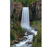 Tumalo Falls, Oregon Photographic Print