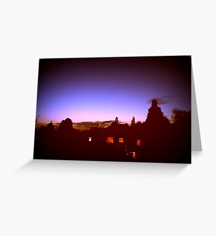 Dreamscape. Greeting Card