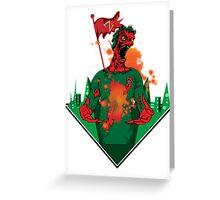 zombie power  Greeting Card