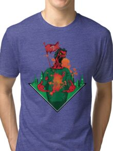 zombie power  Tri-blend T-Shirt
