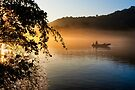 Golden Moments - Chattahoochee River by Mark Tisdale