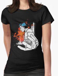 battle ground power  Womens Fitted T-Shirt