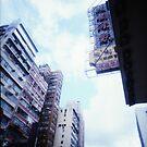 Cartons of Buildings - Lomo by Yao Liang Chua