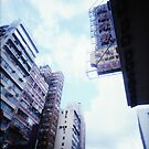 Cartons of Buildings - Lomo by chylng