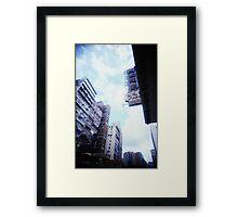 Cartons of Buildings - Lomo Framed Print