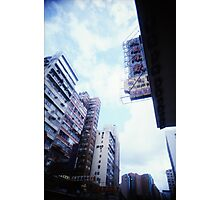 Cartons of Buildings - Lomo Photographic Print