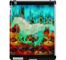 A southwest winter horse  iPad Case/Skin