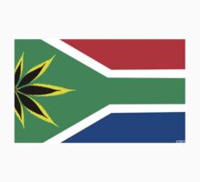 South Africa cannaflag by mouseman
