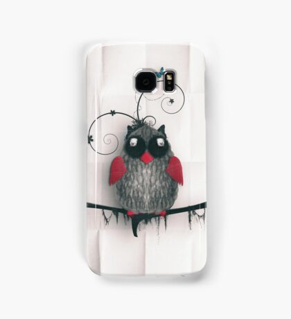 Little Owl Samsung Galaxy Case/Skin