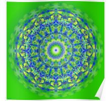 Healing Mandala Heal from the Heart Poster