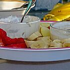 Fresh Fruit & Dip by Susan S. Kline