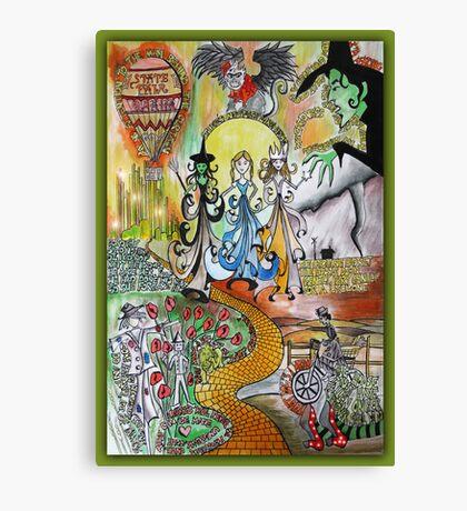 Wizard of Oz Dada Doll Canvas Print