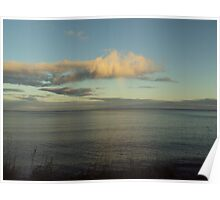 Cloud over Lake Superior Poster