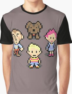 Mother 3 Crew Graphic T-Shirt