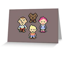 Mother 3 Crew Greeting Card