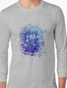 Tardis Shirt Long Sleeve T-Shirt