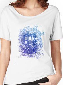 Tardis Shirt Women's Relaxed Fit T-Shirt