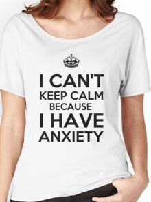 Keep Anxious Women's Relaxed Fit T-Shirt