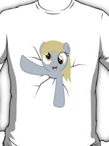 Derpy Hooves stuck in a wall T-Shirt