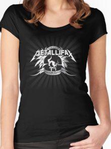 Metallifax Women's Fitted Scoop T-Shirt