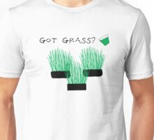 got grass? (wheatgrass)  Unisex T-Shirt