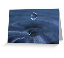 Water Droplet II Greeting Card