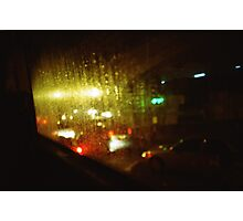 Raindrops Keep Falling - Lomo Photographic Print