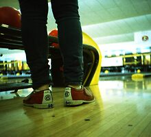 These Shoes Are Meant For Bowling - Lomo by Yao Liang Chua