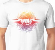 Atomic Fist Bump - Color Unisex T-Shirt