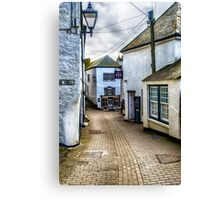 Fore Street Port Isaac Canvas Print