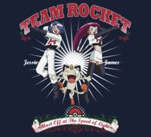 Team Rocket Vintage Poster by Nasarov