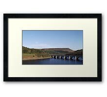 Severn Trent Derwent Valley Reservoir Framed Print