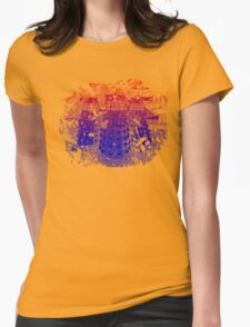 EXTERMINATE!! Womens Fitted T-Shirt