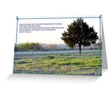 And, It Was So. Greeting Card