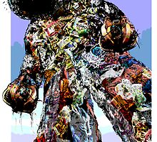 Garbage Man by Paul Baines