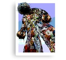 Garbage Man Canvas Print