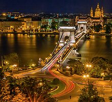 Bridge in Hungary by Ernest Mohs