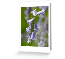 Dream In Blue Greeting Card